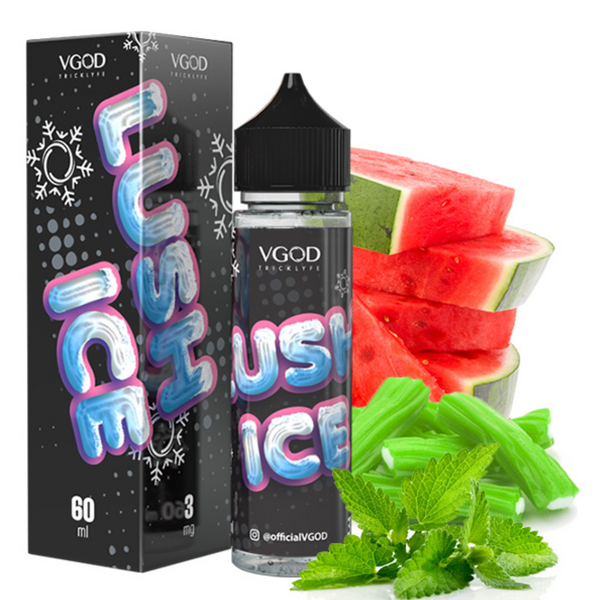 VGOD TRICKLYFE E-LIQUID - LUSH ICE 60ml 3mg
