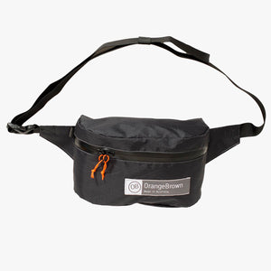 Fanny Pack OB 2.4. This Bum Bag is hand made from X-Pac VX07 in black by OrangeBrown.