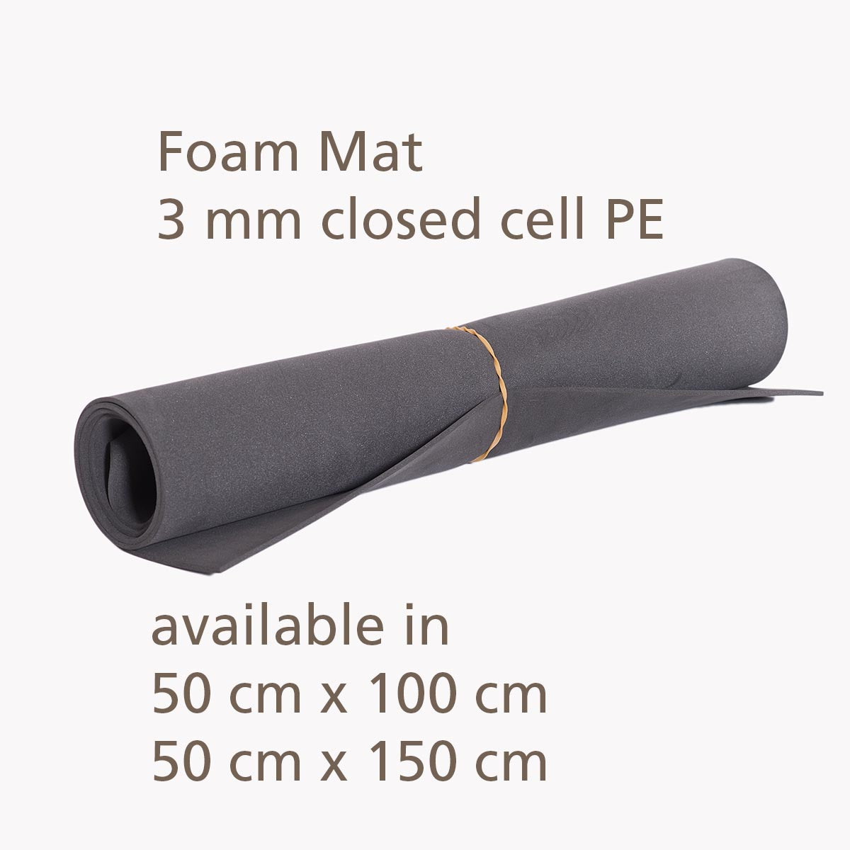 This lightweight 3 mm thin foam pad has many uses. A sleeping mat for the ultralight hiker during summer and a sit pad during the day when resting. Made in Australia.