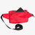 This Bum Bag has a secret pocket on its back for easy phone access. Fanny Pack made from X-Pac VX21 in colour red.