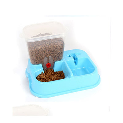 Large Adjustable Automatic Pet Feeder Drinking Fountains