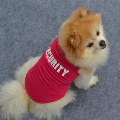Soft Clothes Security for Small Dog