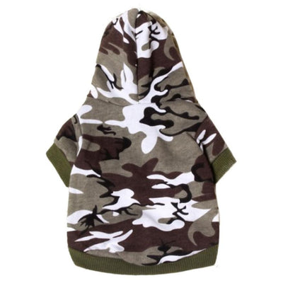 Pet Dog Fashion Camouflage Hoodie