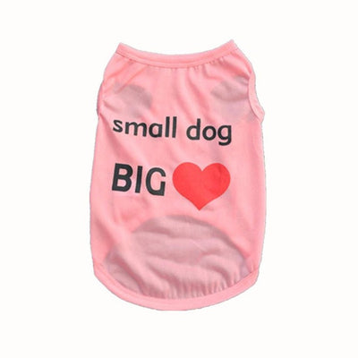 Pet T-Shirt For Small Dog