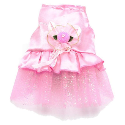 Tutu Dress & Sweet Lace Skirt Pet For Party Wedding