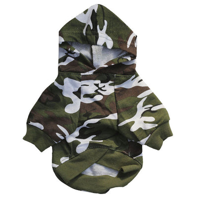 Camouflage Design Coat Clothes for Small Dog