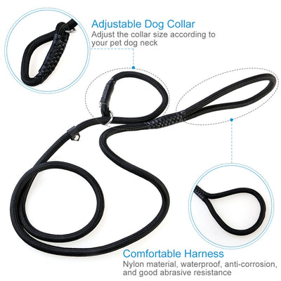 1.50M Durable Pet Nylon Adjustable Loop Training Leash