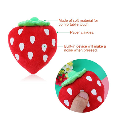 Squeaky Fruits and Vegetables Toys Kit