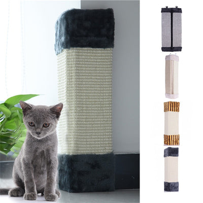 Cat Scratches Board Wall Corner Scratching Mat Post Tree