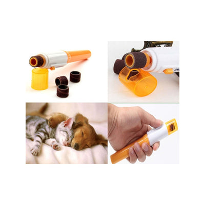 Pet Nail Trimmer Grinder Electric Tool Care Clipper