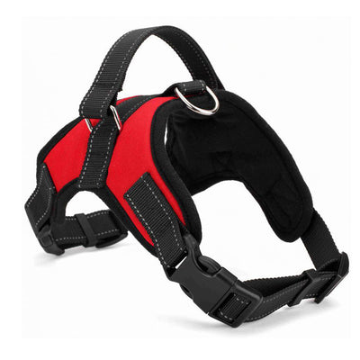 Harness No Pull Adjustable Pet Oxford Soft Vest for Large Dogs