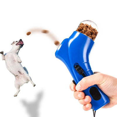 Pet Treat Launcher For Training and Feeding