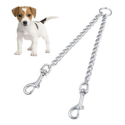 Double Buckle Dog Training Leash Heavy Duty for Small and Medium Dogs