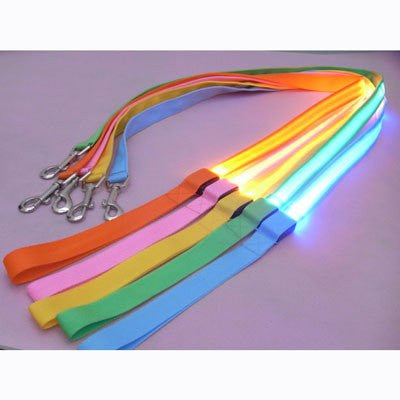 Leash Rope with LED FlashingLight Nylon 5 Color