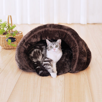 Pet Warm Sleeping Bags Beds Half Cover for Cats and Dogs
