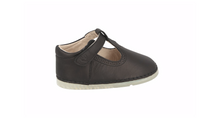 Load image into Gallery viewer, Toledo T-Bar Shoe Black Leather