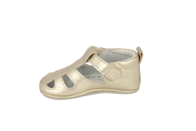 Load image into Gallery viewer, San Sebastian Sandal in Champagne Leather