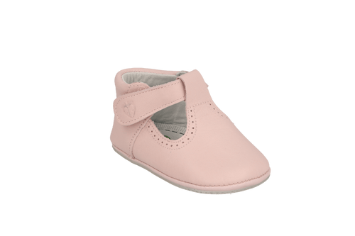 Santiago T-Bar Pink Leather