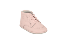 Load image into Gallery viewer, Sevilla Lace Up Bootie in Pink Leather