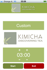 KIMICHA Tea Timer for Your iPhone