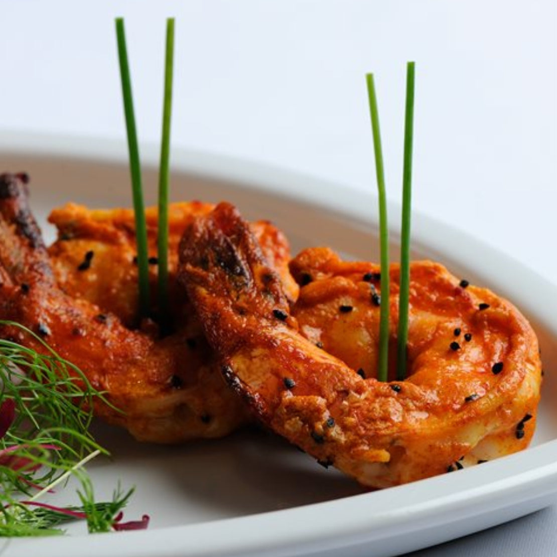 FROZEN TANDOORI PRAWNS - 250 Grams (20 Pieces)