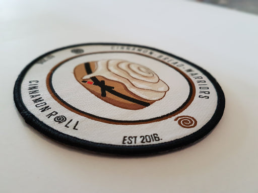 Cinnamon Roll's Cinnamon Bread Warrior Patch