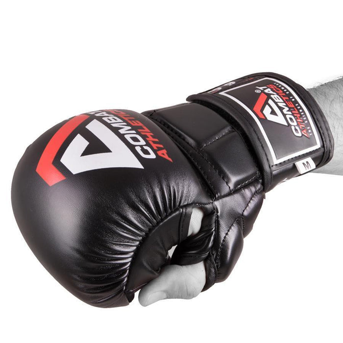 Combat Athletics by Tatami Essential Boxing MMA Sparring Training Gloves Black