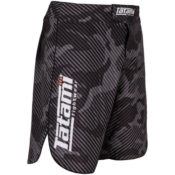 Tatami Renegade Grey Camo Shorts