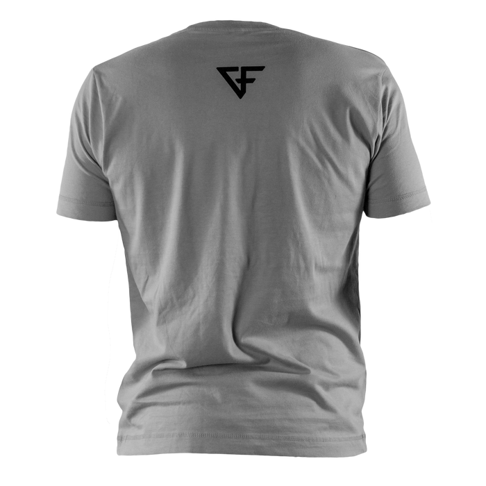 Ground Force Warrior Culture T-shirt viking grey back