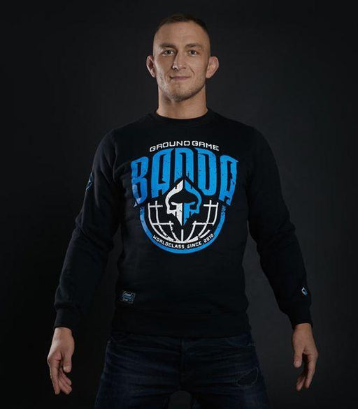 Front view of a Ground Game GG Banda Sweatshirt