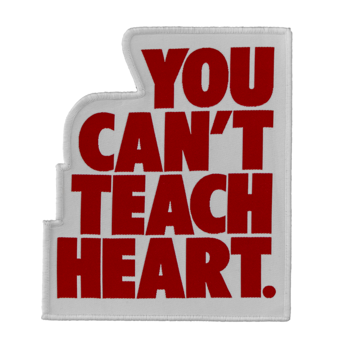 Hyperfly You Can't Teach Heart. Patch