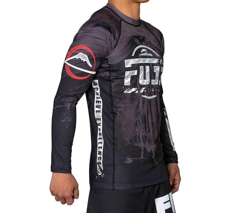 Fuji Mount Rashguard Long Sleeve side right