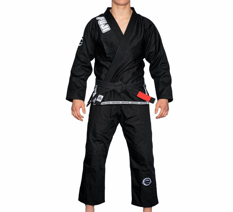 fuji submit everyone bjj gi black front