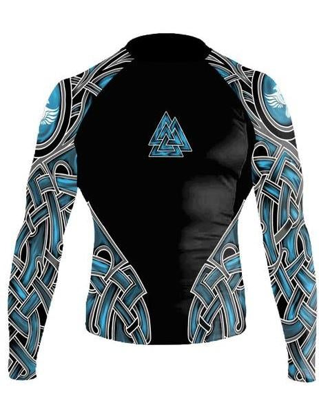Raven The Gods of Scandinavia - Odin Rashguard