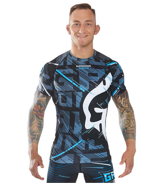 Ground Game Big Logo Rashguard