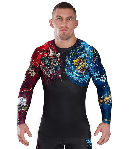 Ground Game Bushido II Rashguard Black
