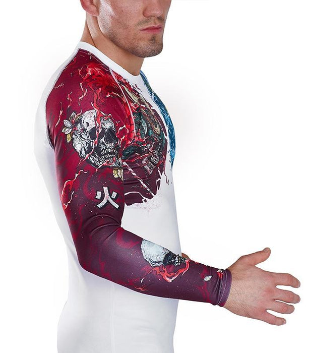 Ground Game Bushido II Rashguard White