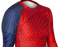 Fuji Americana Womens Rashguard Long Sleeve blue red close up