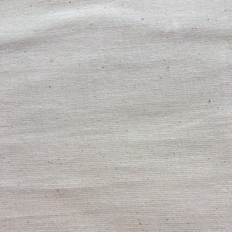 "Unbleached 100% Cotton 114"" Muslin $10.98/Metre"