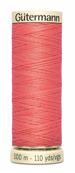 Gütermann Sew All Thread Polyester 100M Lt. Coral