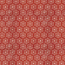 Yuletide - Snowflakes in Red $16.20/Metre