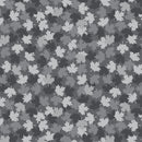 Canadian Christmas Maple Leaf Grey $19.96/Metre