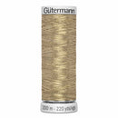Gütermann Dekor Metallic Thread 200m - Gold