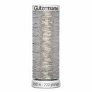 Gütermann Dekor Metallic Thread 200m - Silver