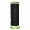 Gütermann Heavy-Duty/Top Stitch Thread 30m - Black