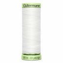 Gütermann Heavy-Duty/Top Stitch Thread 30m - Nu White