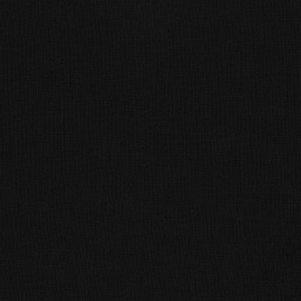 Kona Cotton Solids - Black $10.80/Metre
