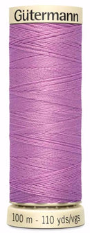 Gütermann Sew All Thread Polyester 100M Rose Lilac