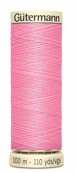 Gütermann Sew All Thread Polyester 100M Dawn Pink