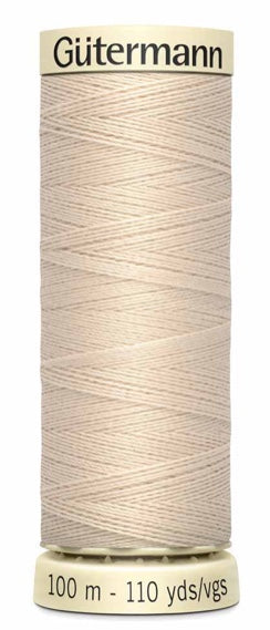 Gütermann Sew All Thread Polyester Bone